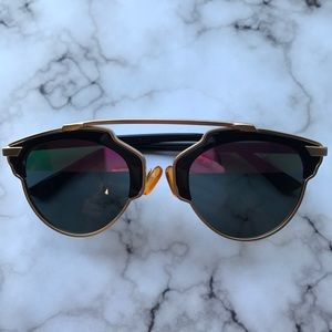 Accessories - Purple Two Toned Sunglasses- Never Worn